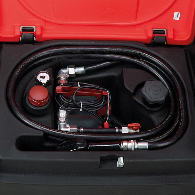 Rezervor mobil 200l cu pompa de motorina 24V tip TM200/24-Z