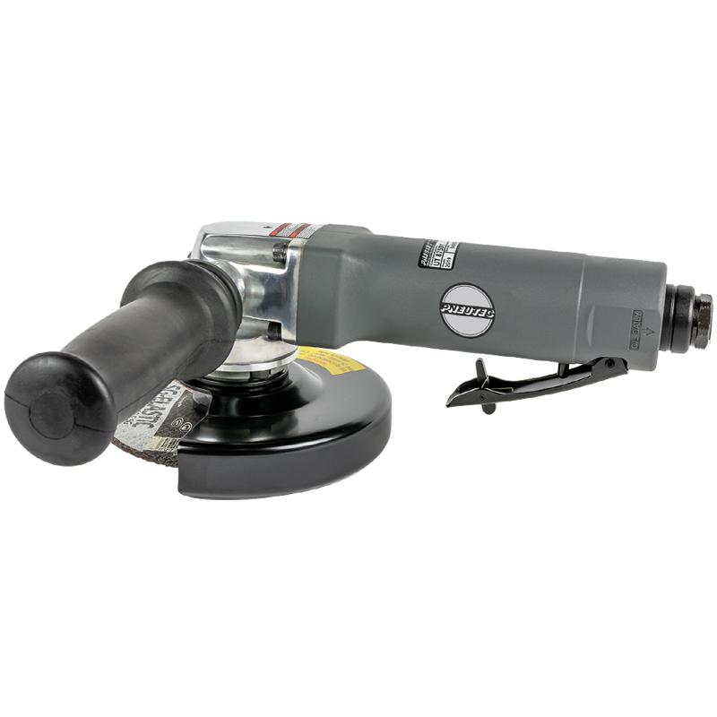 Polizor unghiular pneumatic 500 W, 125 mm, 10000 rot/min, ax M14 si maneta de actionare de siguranta, tip UT8750V