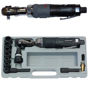 Cheie cu clichet 1/2'' PNEUTEC HITEC LINE, max. 80 Nm + Set chei tubulare 9-19 mm, tip UT5015DS